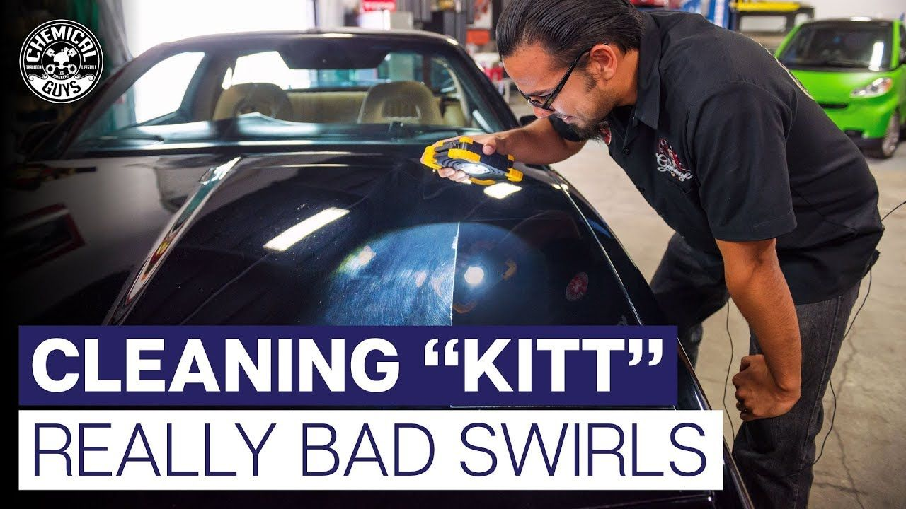 How To Polish Black Paint With REALLY Bad Swirls! K.I.T