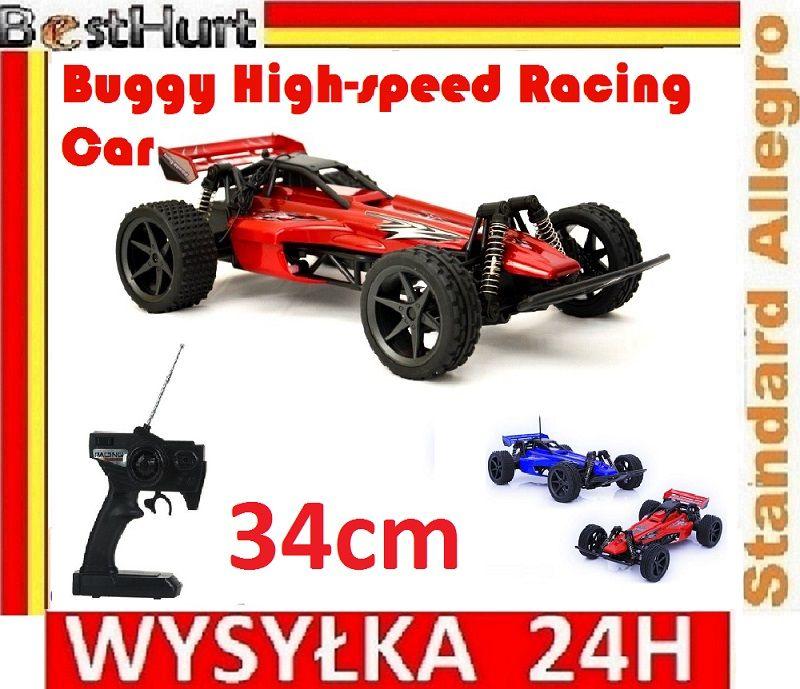 Duzy Buggy High Speed Racing Car 36cm 27 I 40 Mhz 4850441442 Oficjalne Archiwum Allegro Race Cars Buggy Racing
