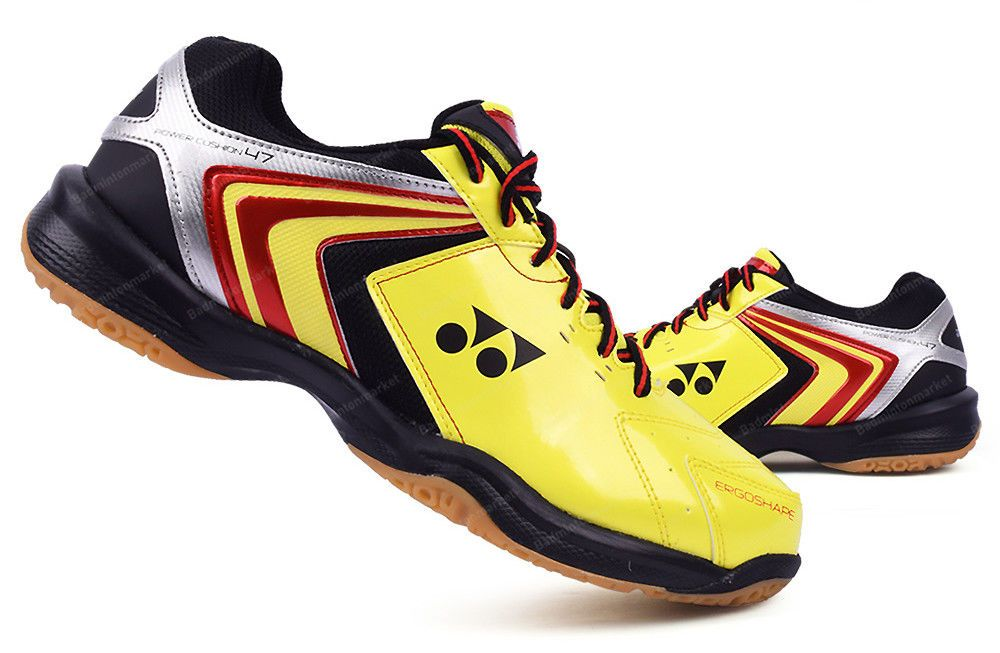 Yonex Unisex Power Cusion 30 Shoes Badminton Black Blue Sneakers Shoe SHB-30EX