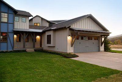 Garage Exterior View of HGTV Dream Home 2012