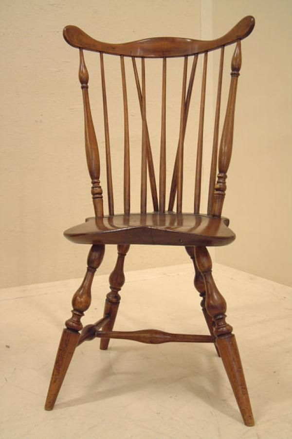 Price My Item: Value Of American Brace Back Fan Back Windsor Chair