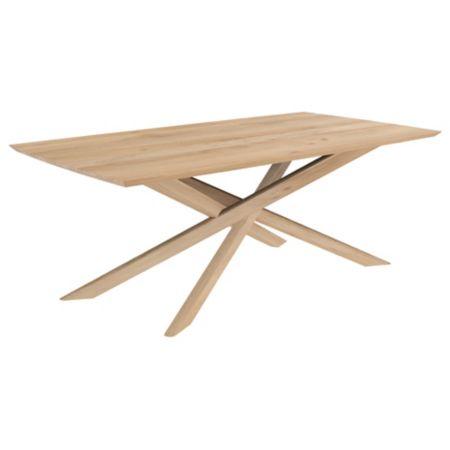 Ethnicraft Oak Mikado Dining Table Yliving Com Modern Oak