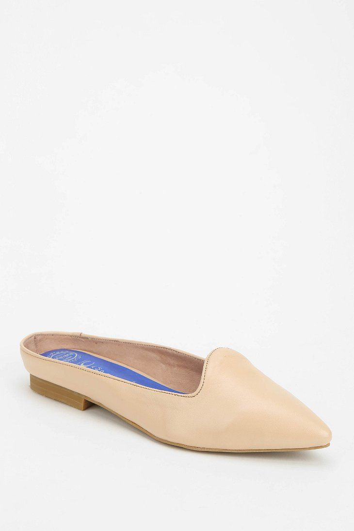 Jeffrey Campbell Ringwald Loafer Mule
