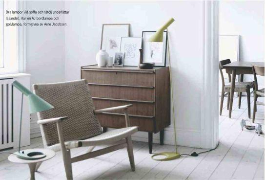 Arne jacobsen table lamp aj desk lamp modern classic lamp - Lampes 50 S Du R 233 Tro Dans Votre Salon Arne Jacobsen