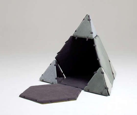 Cojines personalizados: Construcción modular de muebles