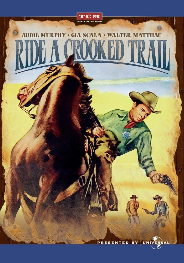Ride A Crooked Trail Audie Murphy Gia Scala Walter Matthau Henry Silva Jesse Hibbs Howar Henry Silva Classic Movie Posters Cool Things To Buy