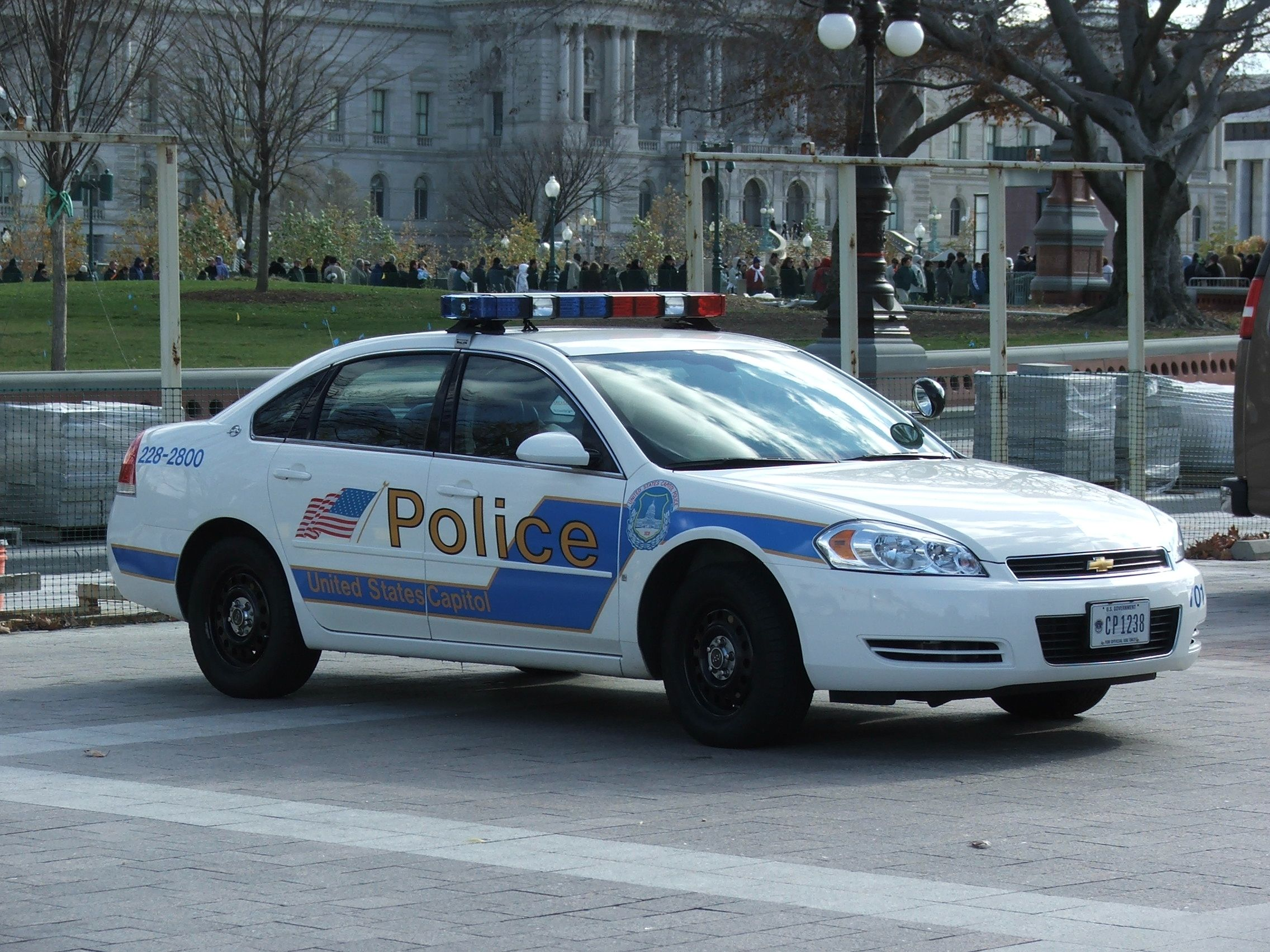 US Capitol Police Car