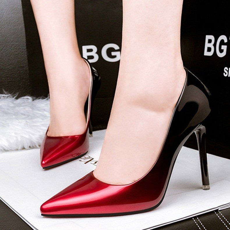 cb2f3d06e Faded High Heels | Women Shoes | Stiletto heels, Shoes, Heels