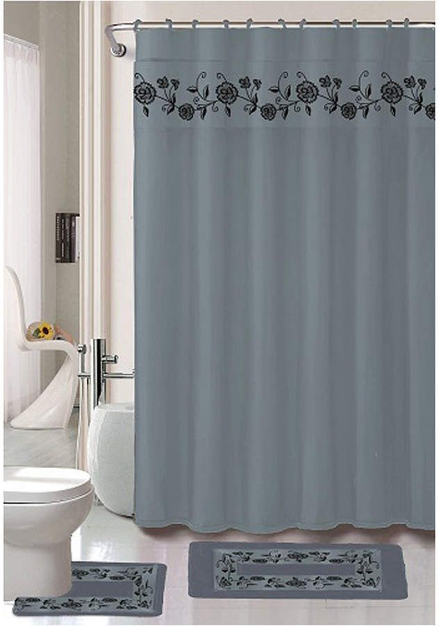 Popular Bath Vera 18 Pc Shower Set Bedding Products Shower