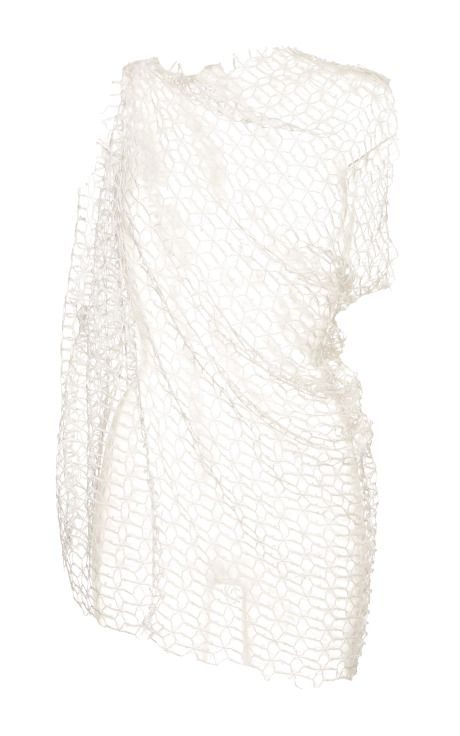 Ellery Jasper Sleeveless Drape Top In Ivory by  for Preorder on Moda Operandi