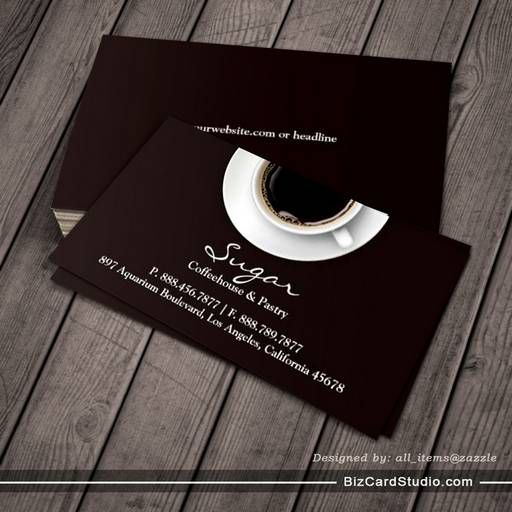 Coffee business card business card templates pinterest coffee coffee business card wajeb