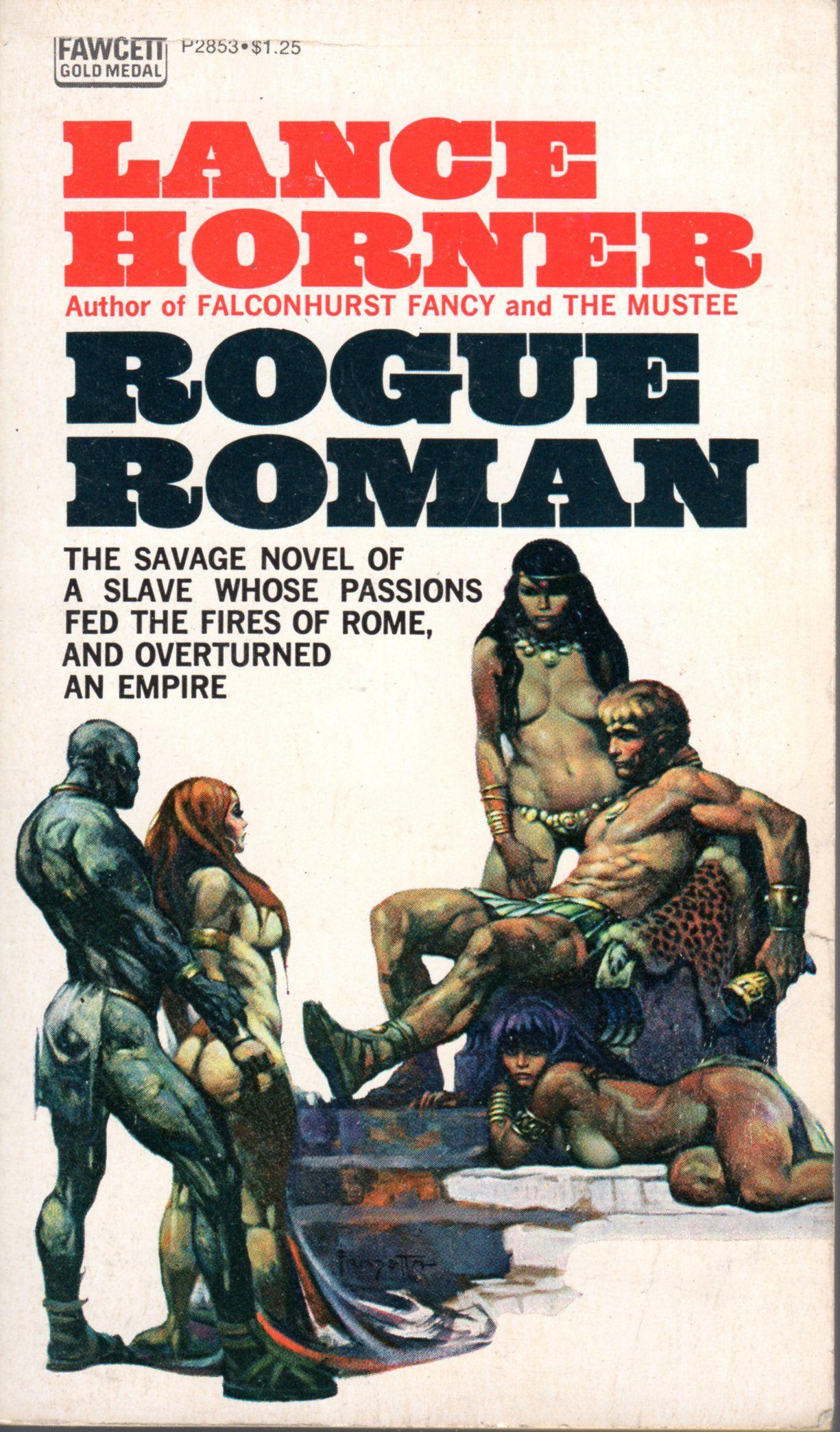 Rogue Roman - Lance Horner, cover by Frazetta