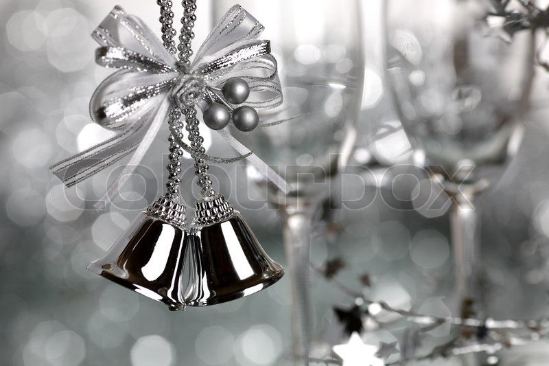 Silver Bells Christmas Decorations Pinlady Linda 💋 On A Black White And Silver Christmas Ii