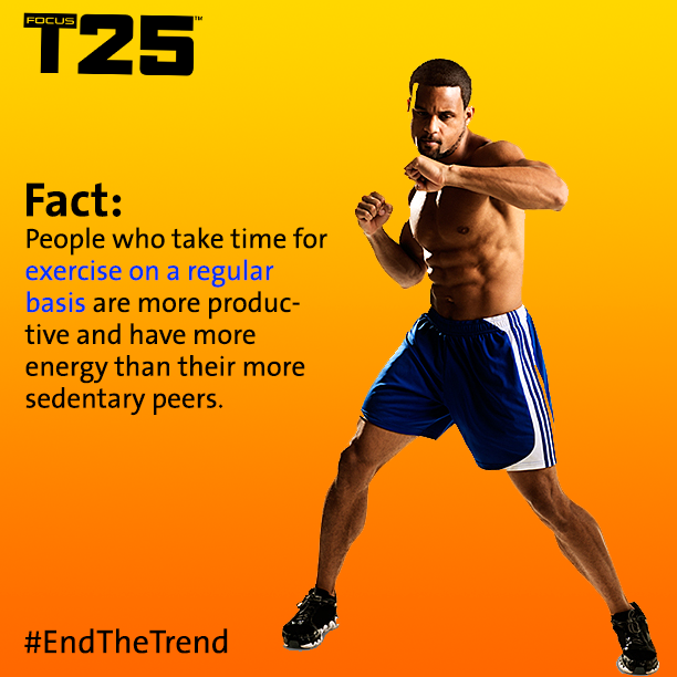 Workout 5 days a week with Shaun T!  On sale now!  #beachbody #t25 #shaunt