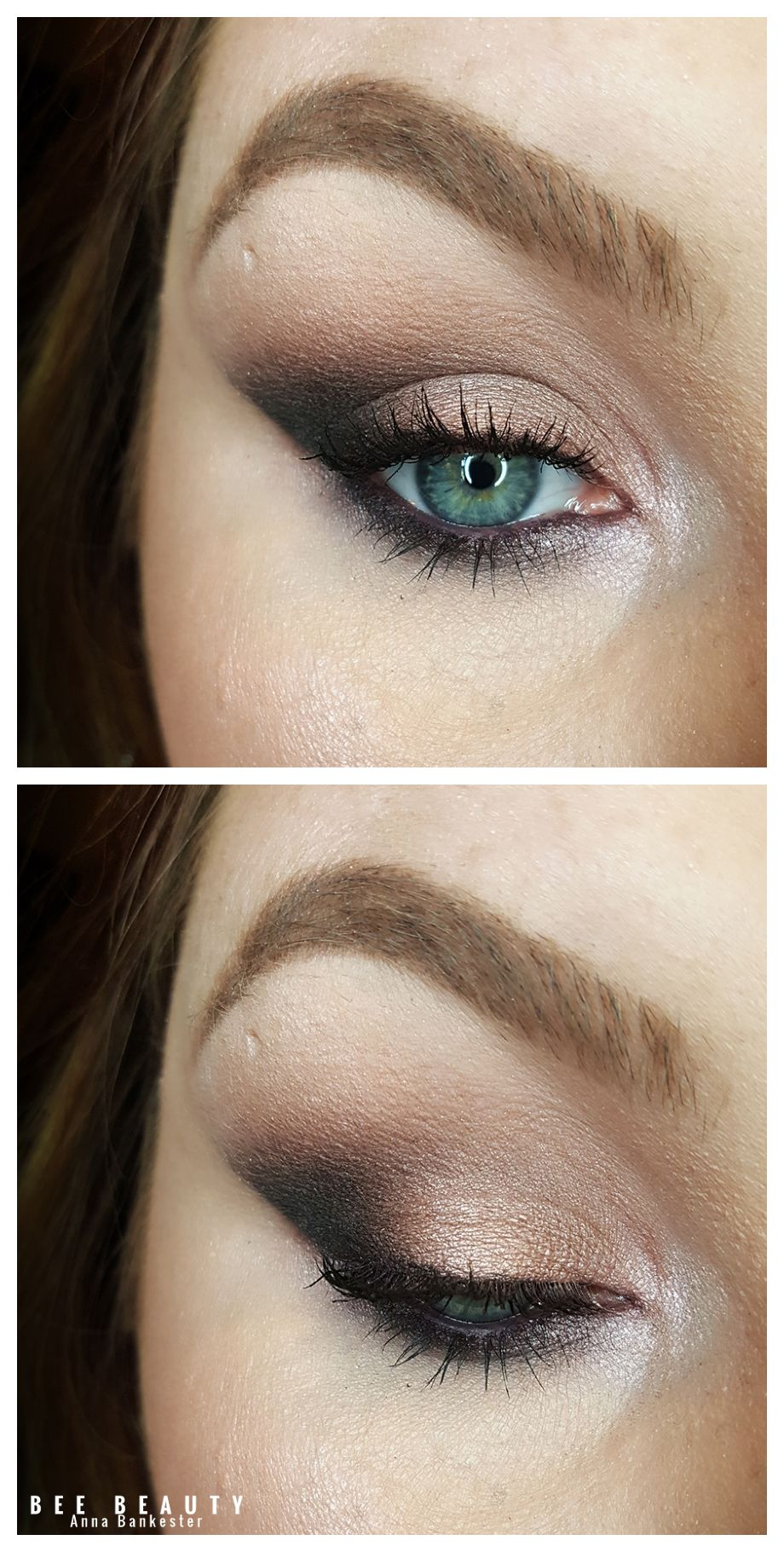 Urban decay vice 2 palette. Green smokey eye with a pop of