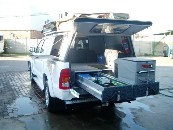 Roller Drawers Fantastic Storage Toyota Hilux Top Tents Roof Top Tent
