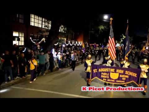 St Aug Marching 100 Muses 2017 Full Parade Coverage St Augustine Parades Midtown Houston