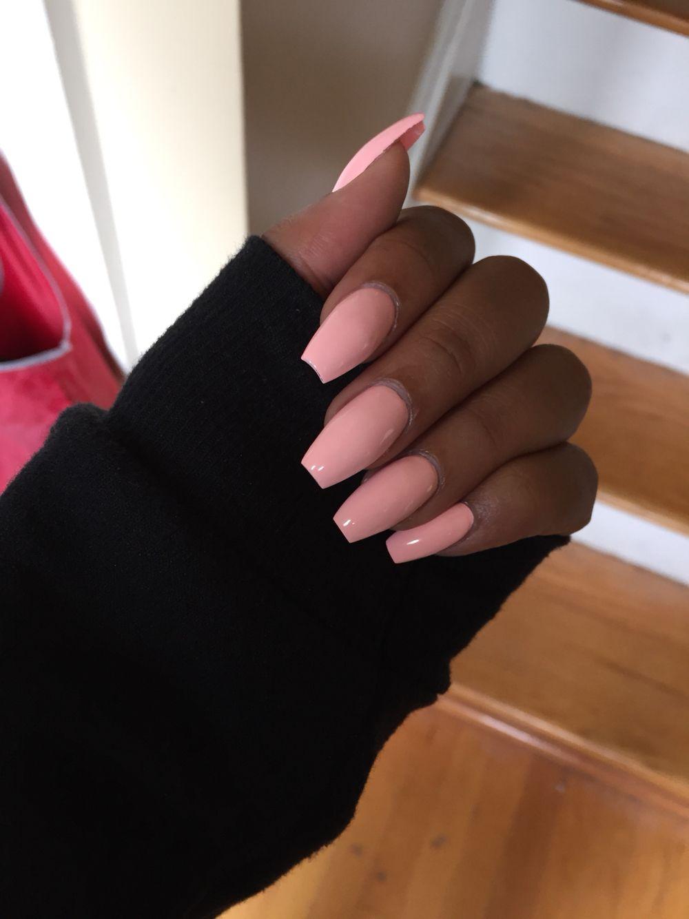 Pinterest Dajahjohnson Girls Nails Pink Nails Posh Nails