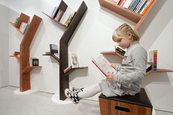 Boekenkast BookTree voor de kinderkamer