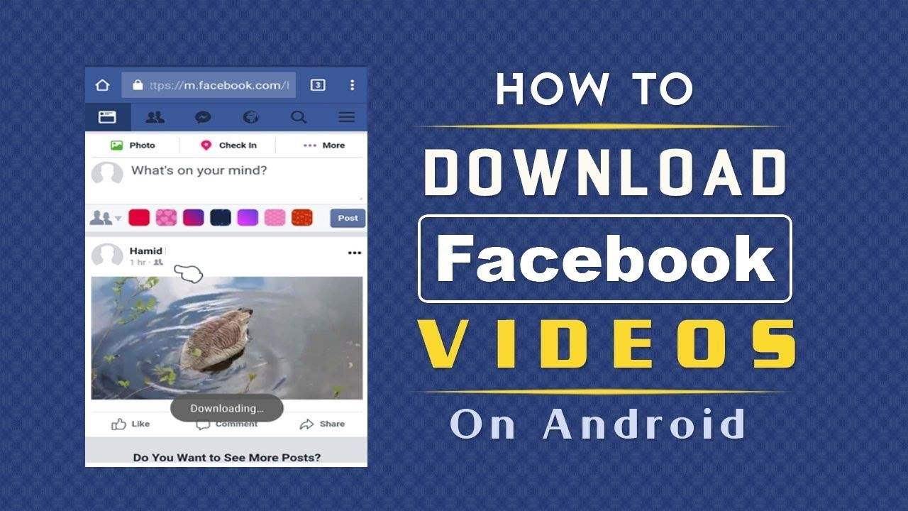 Pin by tutovids on facebook tips tricks facebook video