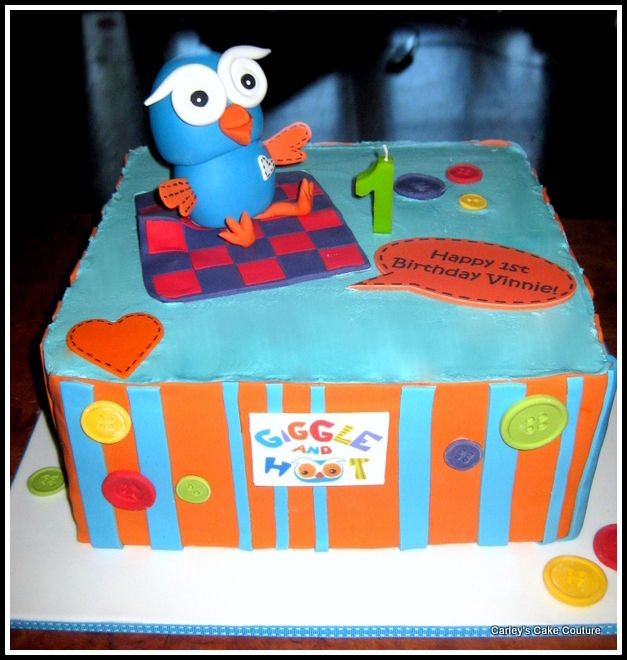 Carley's Cake Couture: Hoot Cake (Giggle and Hoot)
