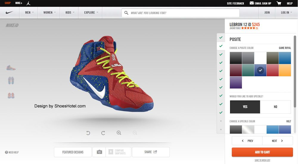 Online is always the best place to shop for LeBron James shoes. This is  because you can find your dream basketball shoes through the internet  easily without
