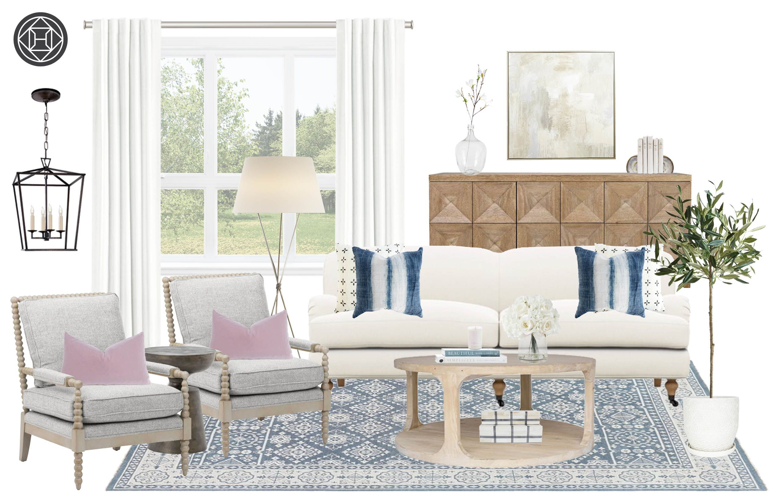 Transitional Design By Havenly Interior Designer Ashley With