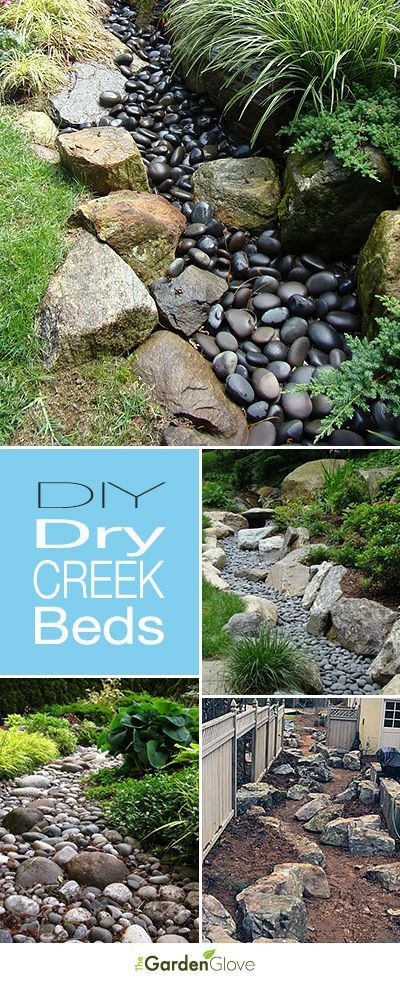 Diy Dry Creek Beds Backyard Landscaping Lawn And Garden Dry Creek