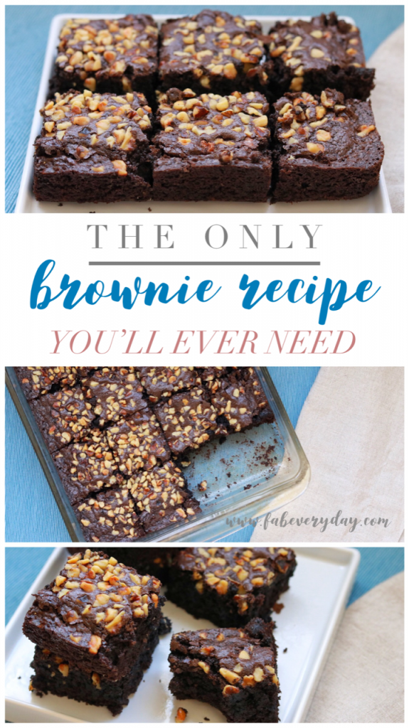 The last brownie recipe you'll ever need: Fab Everyday's foolproof Classic Brownies recipe | Fab Everyday