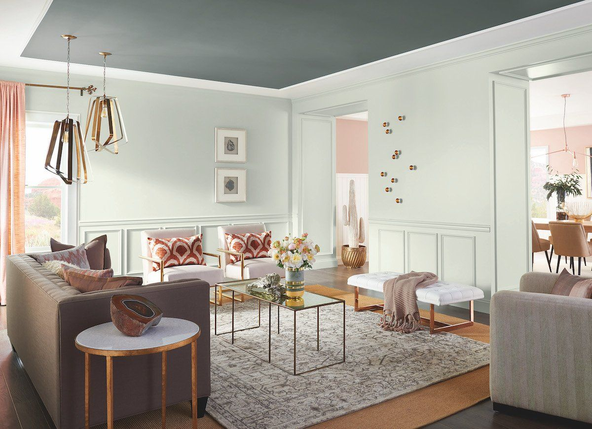 18 Paint Colors You\'re Going to See Everywhere in 2018 | Pearl grey ...