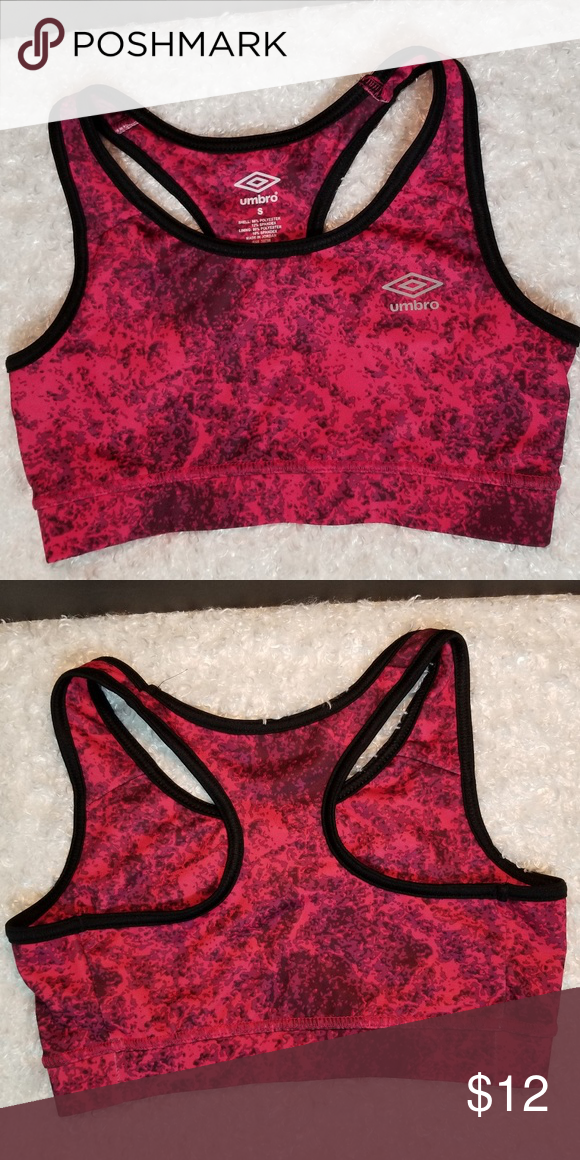 4097deb3676cb Umbro Sports Bra Cute Umbro sports bra looks great paired with your  favorite bottoms. NWOT