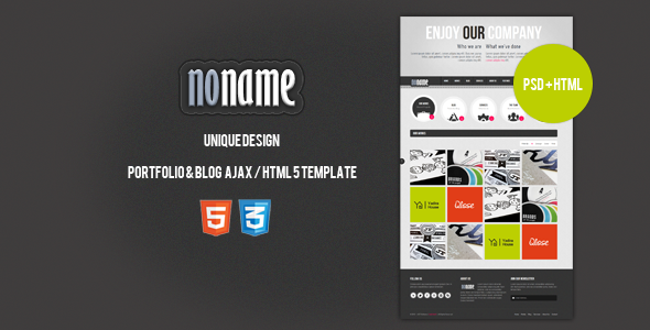 The html 5 and css3 are themes suitable for you and your company whose portpolio have a unique design and operation and a block site. This theme which has a simple usage and setup can access most pages by ajax from the main page as well as used as stabilized. It is also compatible with mobile devices.