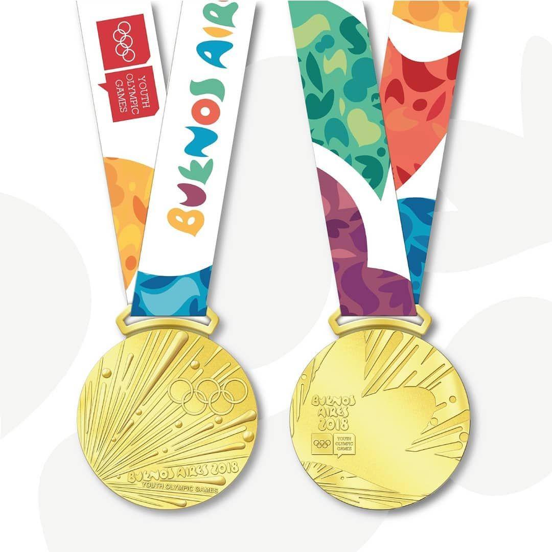 1984 SARAJEVO WINTER OLYMPICS GOLD MEDAL WITH SILK RIBBON /& STORAGE POUCH