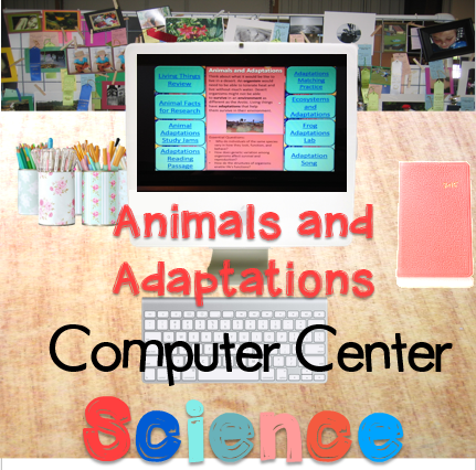 Science Interactive Task Cards for Animals and Adaptations Supplement your science curriculum with Interactive Task Cards for each content unit.  Designed with essential questions and 8 interactive web resources for your students to use to find the answers to the essential questions. $