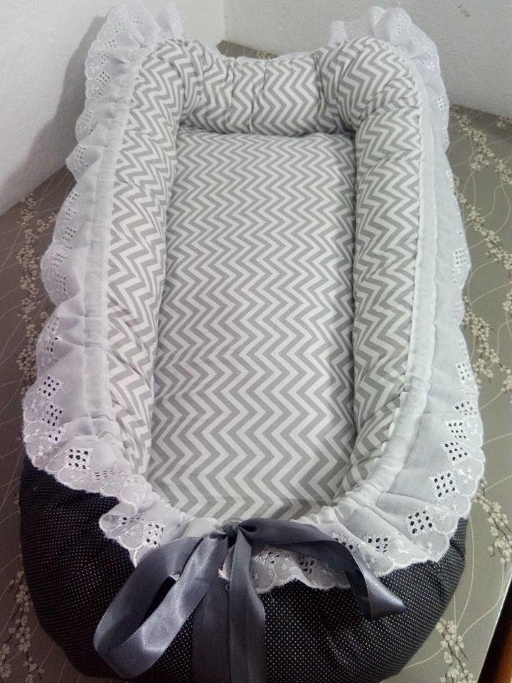 f510f05818521 Ninho redutor de berço é opção para deixar o bebê confortável nos primeiros  meses - Blog do Elo7