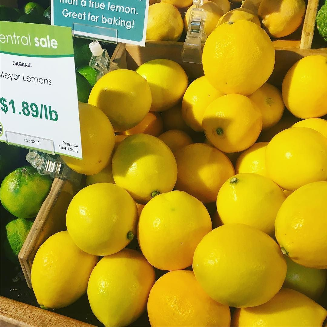 A Meyer Lemon Is No Ordinary Lemon Introduced To The Us From China Meyer Lemons Are Thought To Be A Cross Between A Regul With Images Alice Waters Mandarin Orange Citrus
