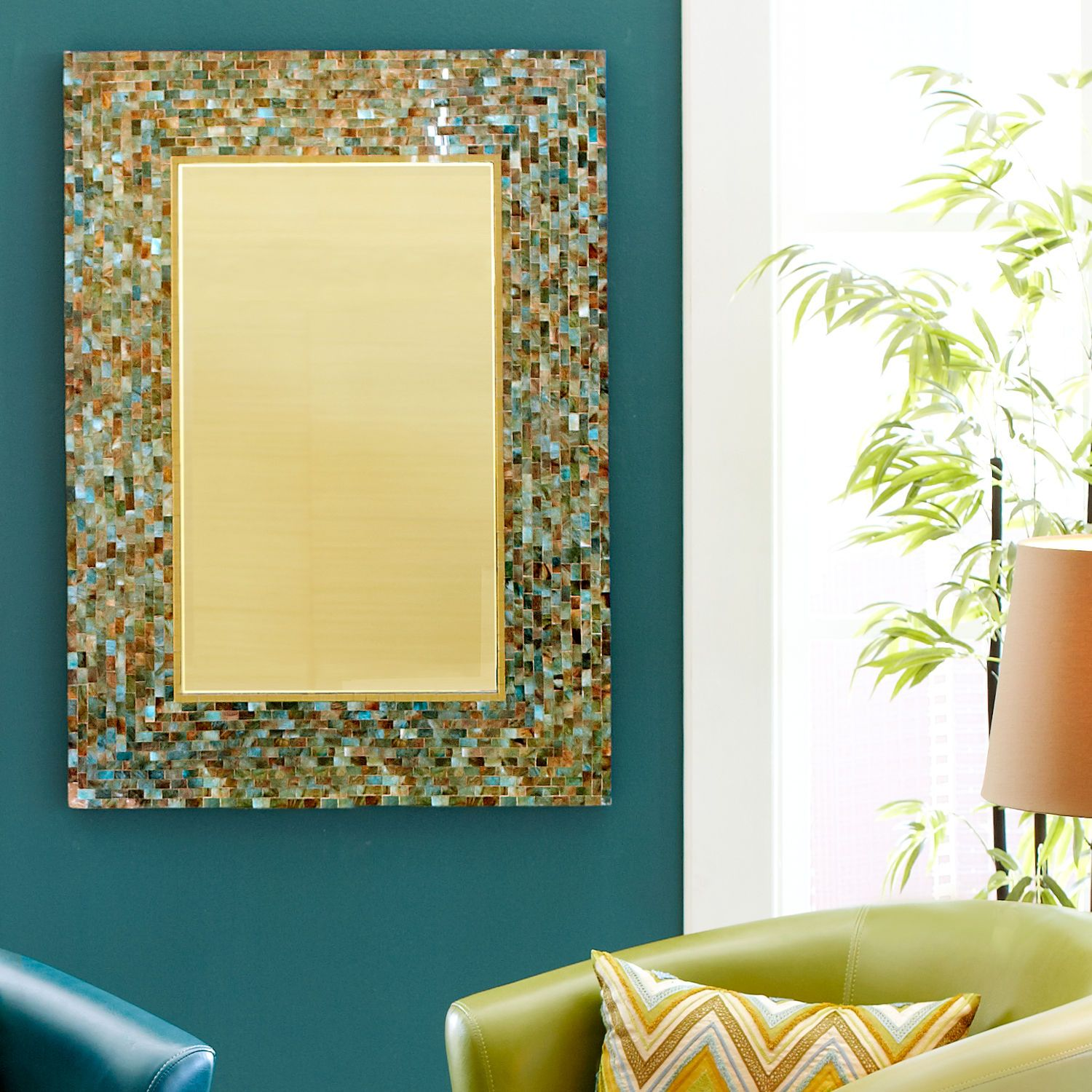 Ocean Mosaic Mirrors (Pier 1 Imports) (three sizes, sold ...