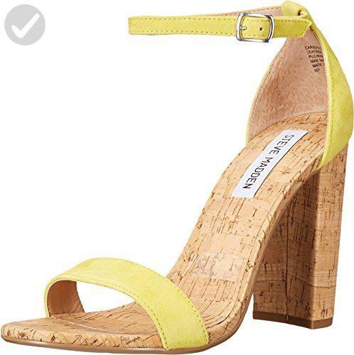 efe6349b87e Steve Madden Women s Carson-C Dress Sandal Dressy sandal with strap
