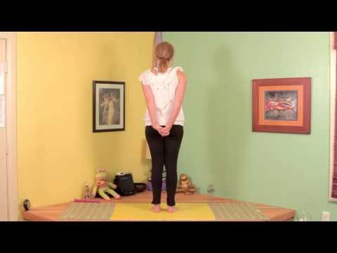 how to stretch a rotator cuff  stretching  yoga  muscle