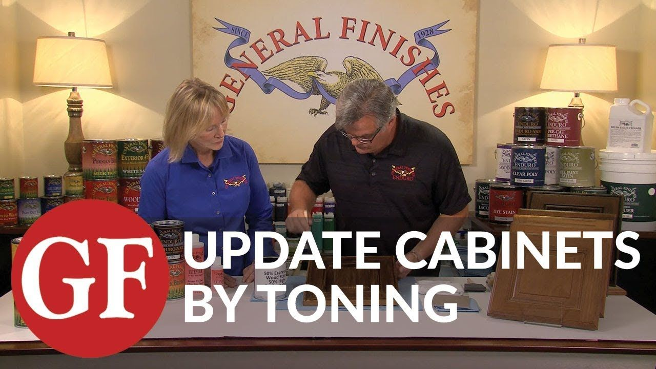 For Table How To Update Kitchen Cabinets By Toning With Water Based Finishes Youtube Staining Wood Water Based Stain Water Based Wood Stain
