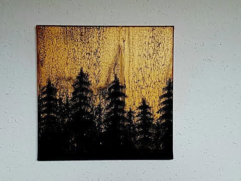 pin auf paint pouring acrylbild malen abstrakt speckstein skulpturen