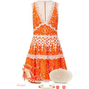 Bright Dress For Spring