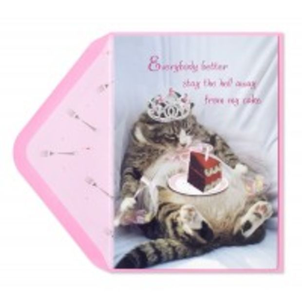 Princess kitty w cake funny birthday cards papyrus papyrus princess kitty w cake funny birthday cards papyrus bookmarktalkfo Images