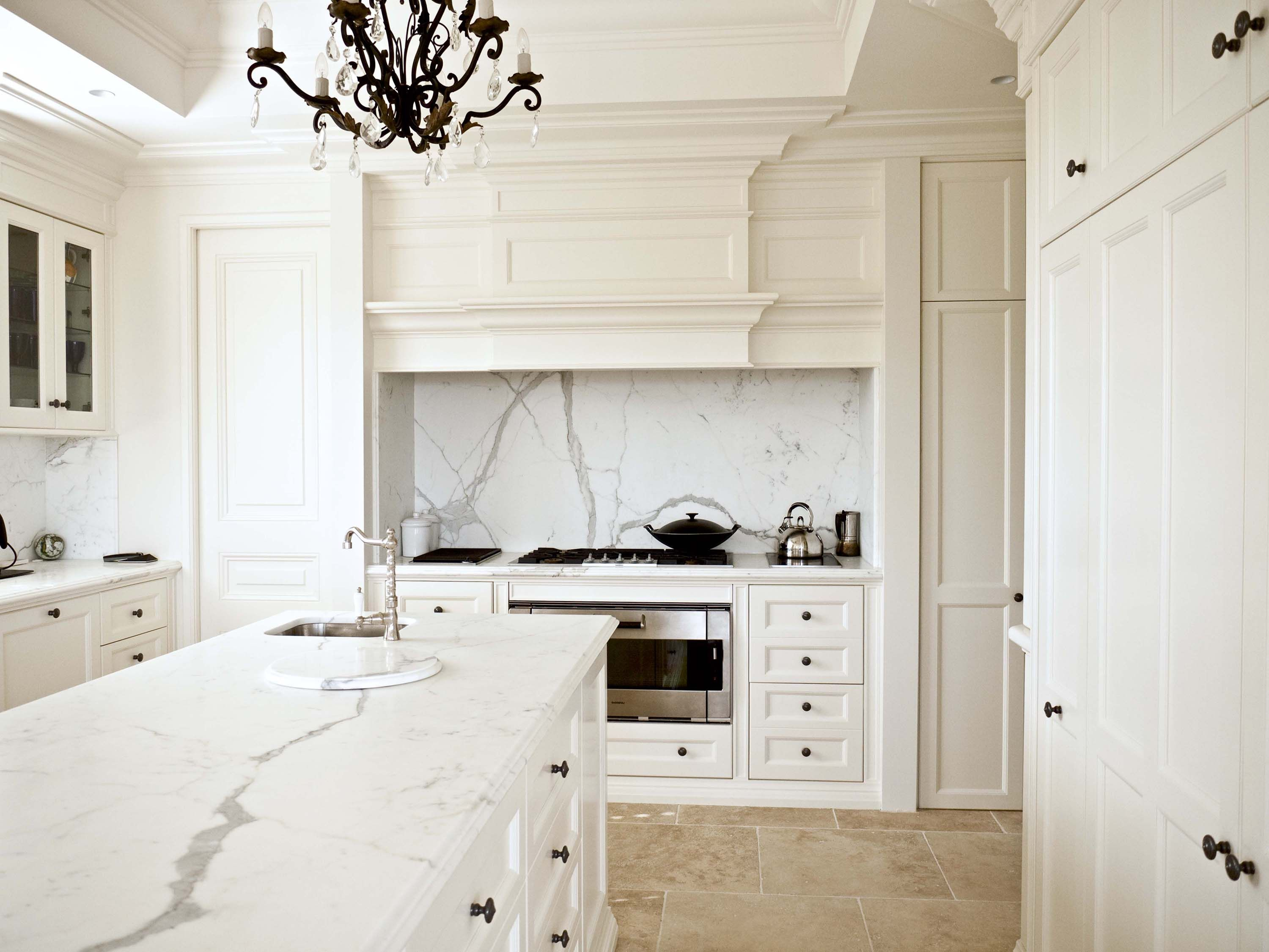 French Parisian style kitchen - French provincial style in Sydney ...