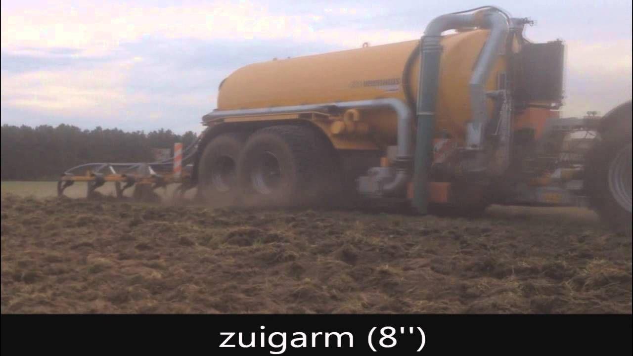 Loonbedrijf Gebr. Klerks (Helvoirt) Met nieuwe 22 Kuubs Veenhuis tank