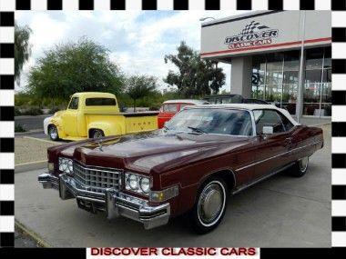 Cadillac Eldorado Convertible, for sale in Scottsdale, Arizona, price on application. http://www.classiccar.com/cadillac/eldorado/cadillac-eldorado-convertible_22964/?pageCount=38&page=3&limit=34&back=cadillac%2F