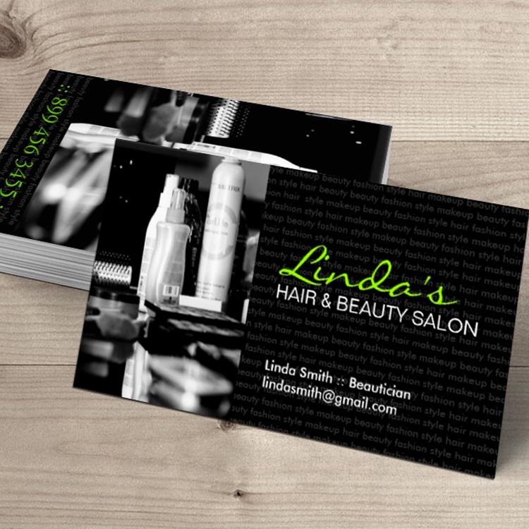 Hair Salon Business Card Salon business