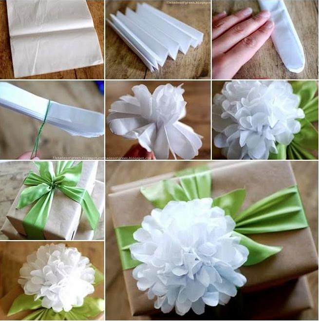 Tissue paper flower tutorial diy craft ideas pinterest paper tissue paper flower tutorial mightylinksfo