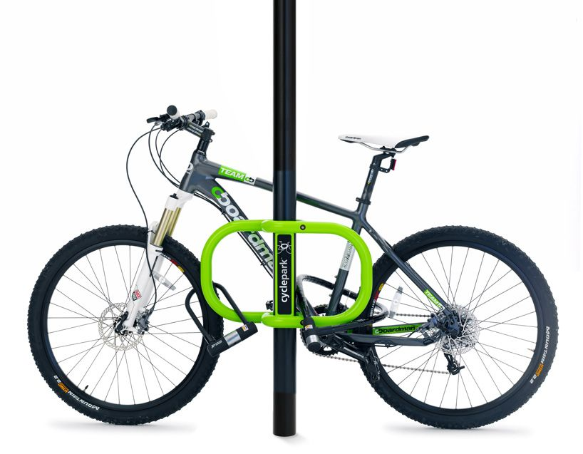 smartstreets-cyclepark™ transformational bike parking by chris garcin and andrew farish smartstreets ltd. platinum A - world design rankings 2013