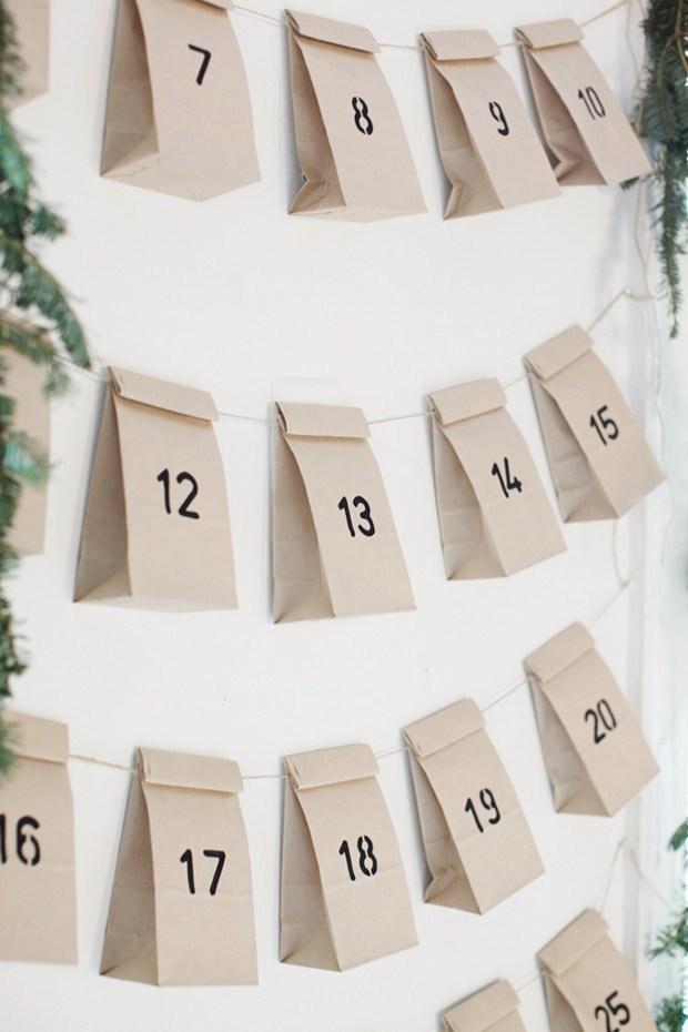 39 idées de calendrier de l'avent DIY à fabriquer soi-même #calendrierdel#39;avent